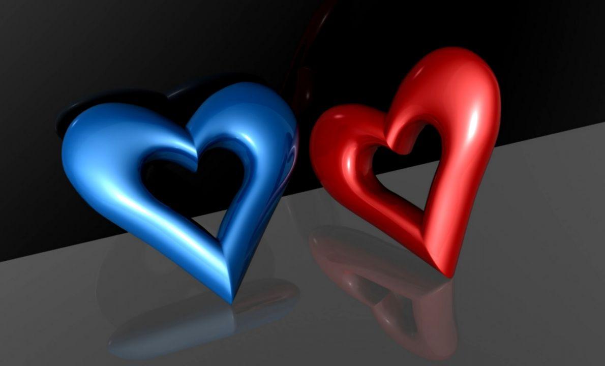 Heart 3d Wallpaper Hd Wallpaper Background Hd