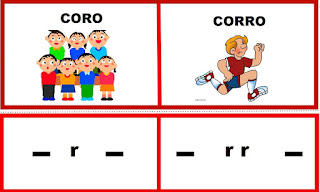 ejemplo del uso de la r y la doble rr