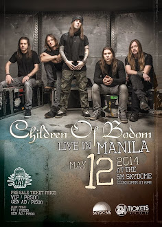 Children of Bodom Live in Manila 2014