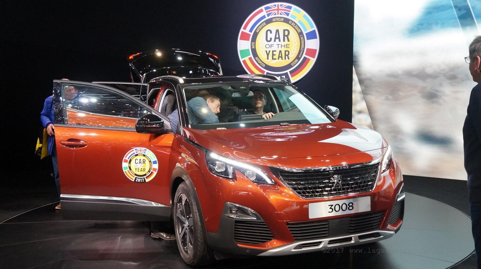 3008 voiture de l'année