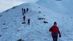 Descending Coumfea Moraine