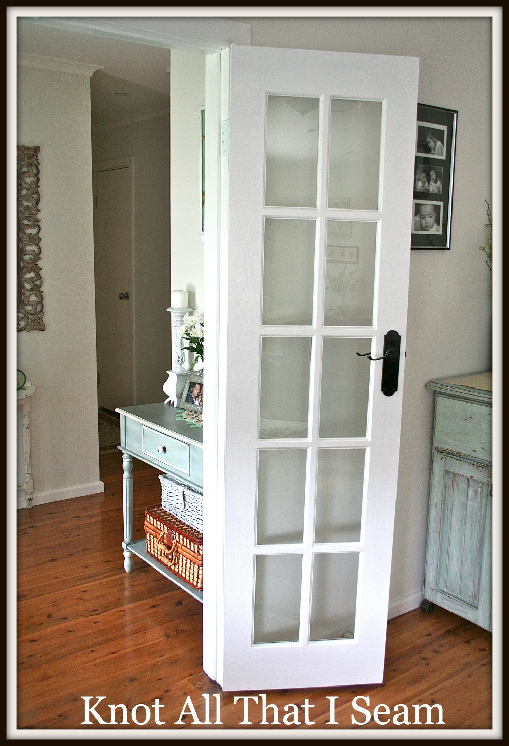 Restyle relove white internal french door makeover for White french doors