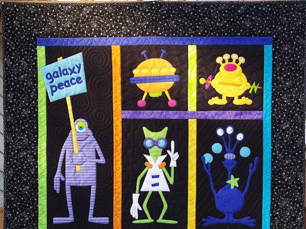 Alien Quilt