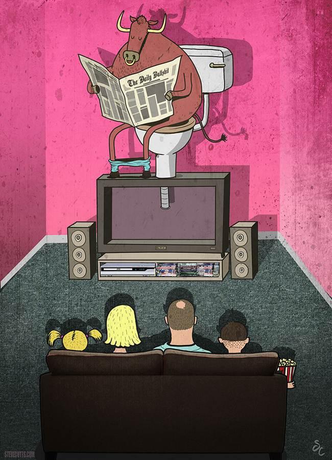 taur bullshit televizor