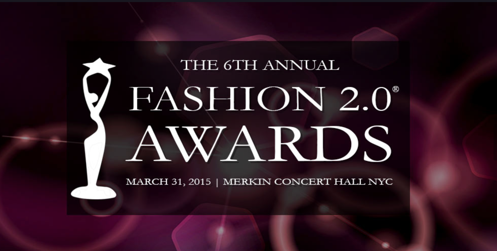 The Winners of Fashion 2.0 Awards 2015