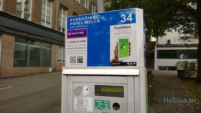 easy parking in Helsinki with the ParkMan app