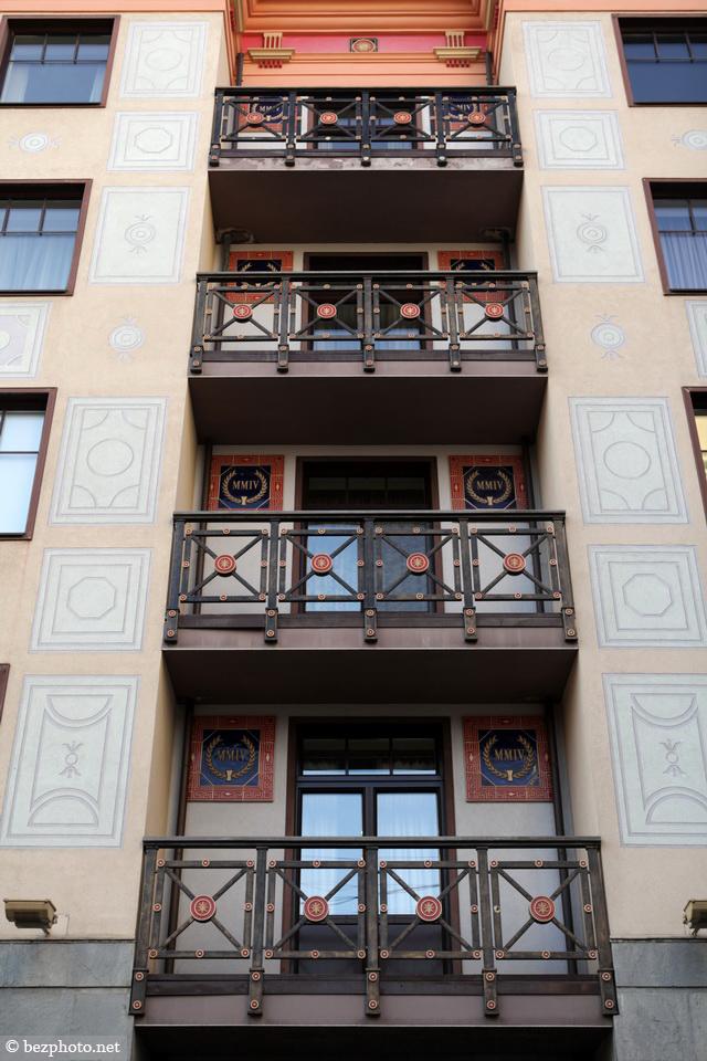 современная архитектура москвы