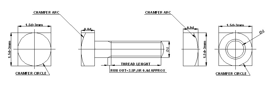 how to draw nut and bolt in autocad 3d