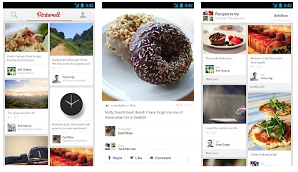 pinterest app for android