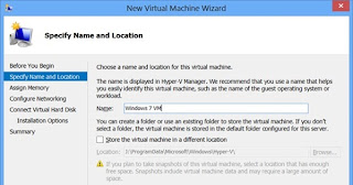 Membuat Virtual Machine di Windows 8