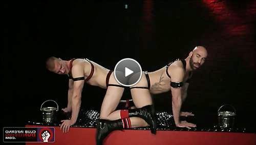 double headed dildo ass video