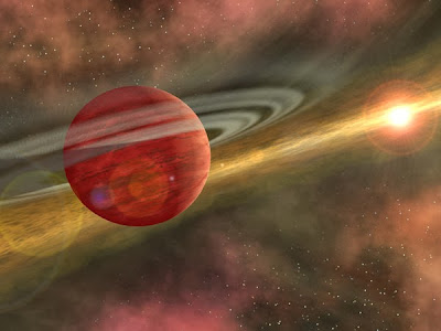 Newly found massive planet does not fit theories of planetary formation...