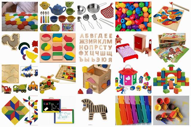 Игрушки развивающие для ребенка 3 лет