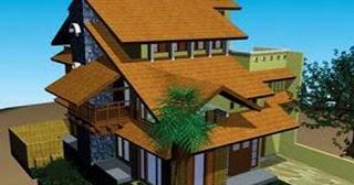 model atap rumah minimalis plus gambar rancangan rumah