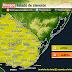 AVISO | Prob. lluvias y tormentas fuertes (Lun 19/10 - AM Mar 20/10)