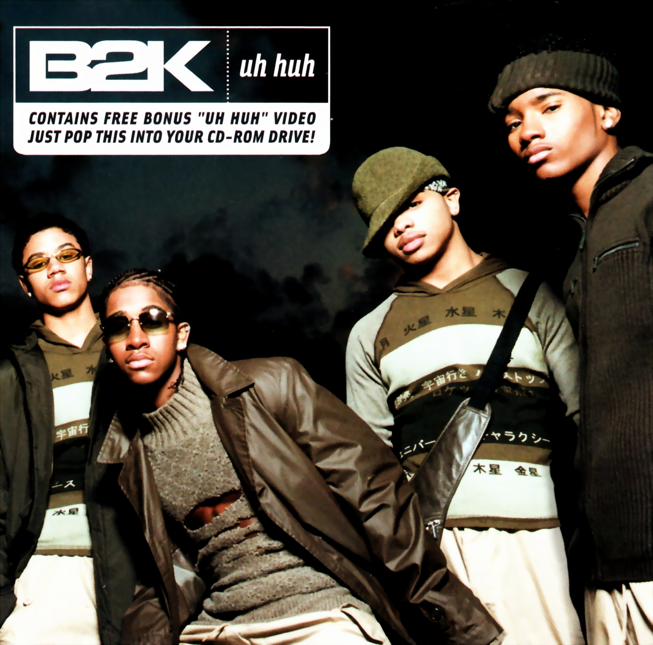 highest level of music: B2K Feat. Nazkar - Uh Huh-CDS-2001 B2k