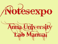 Anna university Data Structure lab manual for M.E CSE