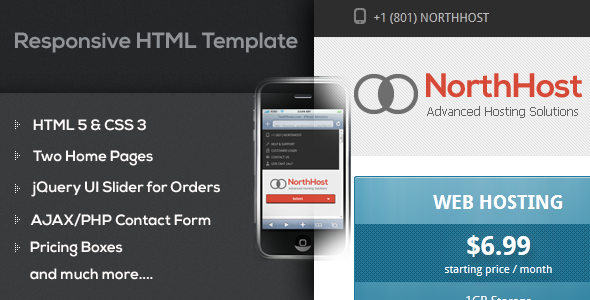 North Host – Web Hosting, Responsive WHMCS Template - Nulled Scripts