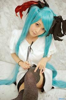 Vocaloid Hatsune Miku World is Mine Cosplay by Pokemaru