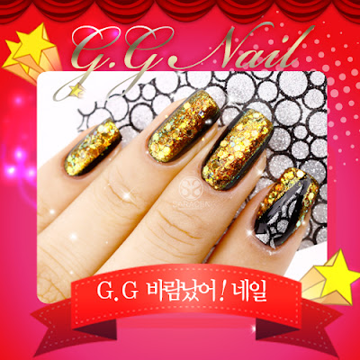 G.G having an affair Nail Art
