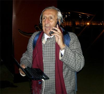 El baile del Toto Da Silveira [periodista uruguayo]