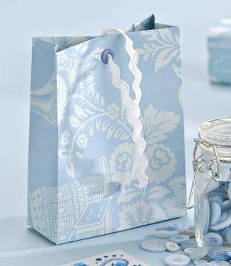 Moldes para hacer bolsas de regalo portal de manualidades - Hacer bolsas de papel para regalo ...