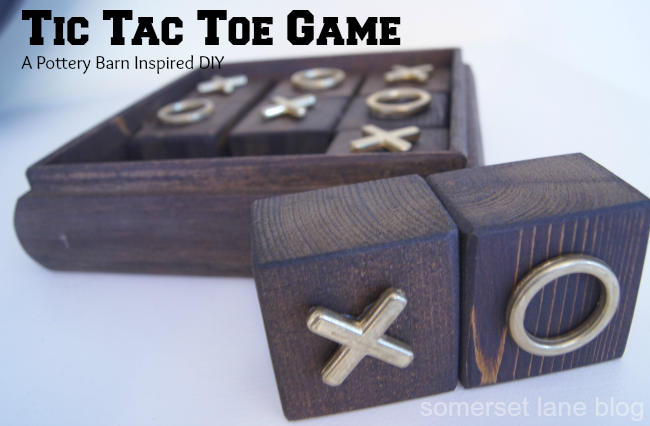 DIY: Tic Tac Toe Game