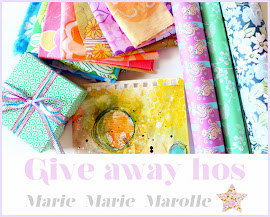 Give away hos Marie Marie Marolle