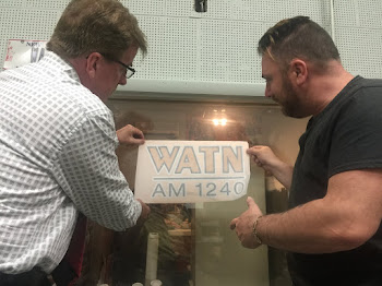 Radio Celebrities Install Decal