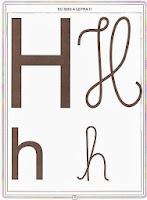 Alfabeto de parede 4 tipos de letras