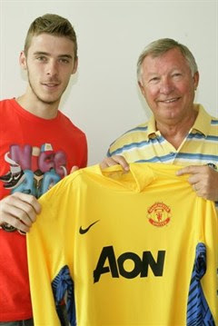 david de gea contract of 5 years with MU