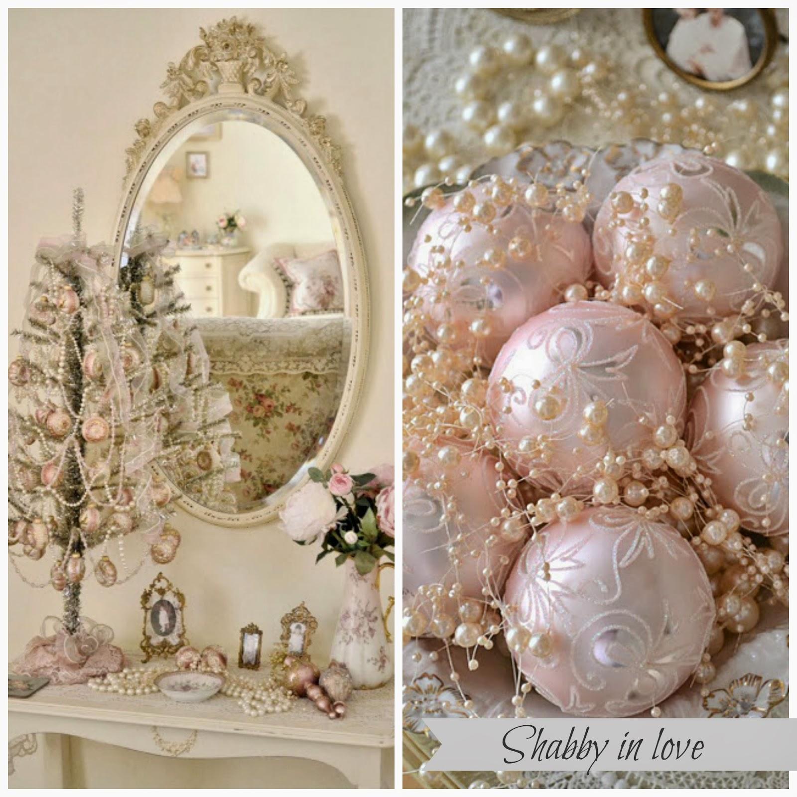 shabby in love pastel christmas decor ideas