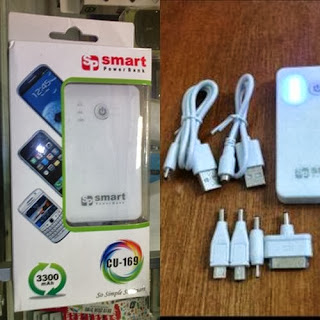 Power Bank Bagus Smart 3300 mAh