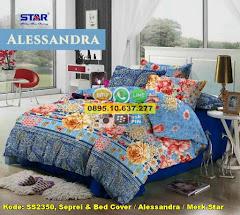 Harga Seprei & Bed Cover / Alessandra / Merk Star Jual