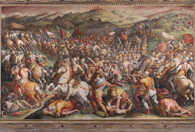 Battaglia di Marciano, de Giorgio Vasari.