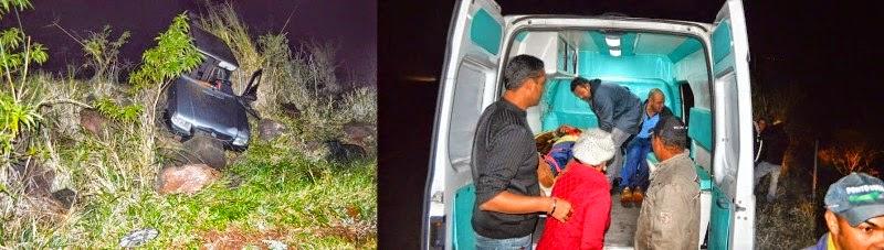 GRANDES RIOS VEREADOR FAGNER HONÓRIO SOFRE ACIDENTE COM CARRO