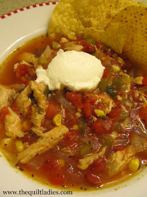 Serving Weight Watchers Tortilla Soup