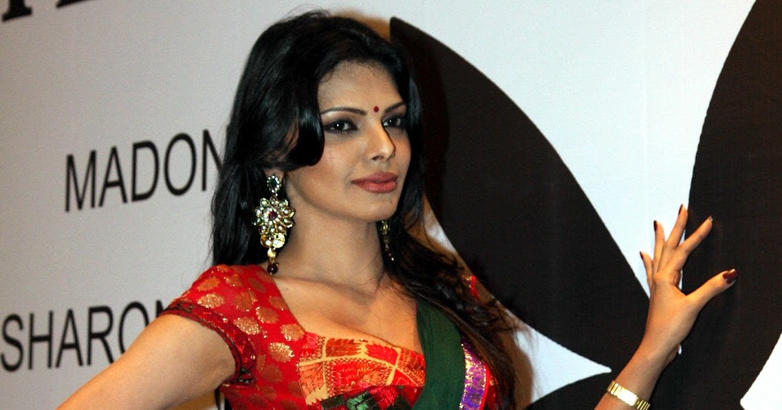 sherlyn chopra hot in saree cleavage navel show at playboy magazine press meet indian. Black Bedroom Furniture Sets. Home Design Ideas