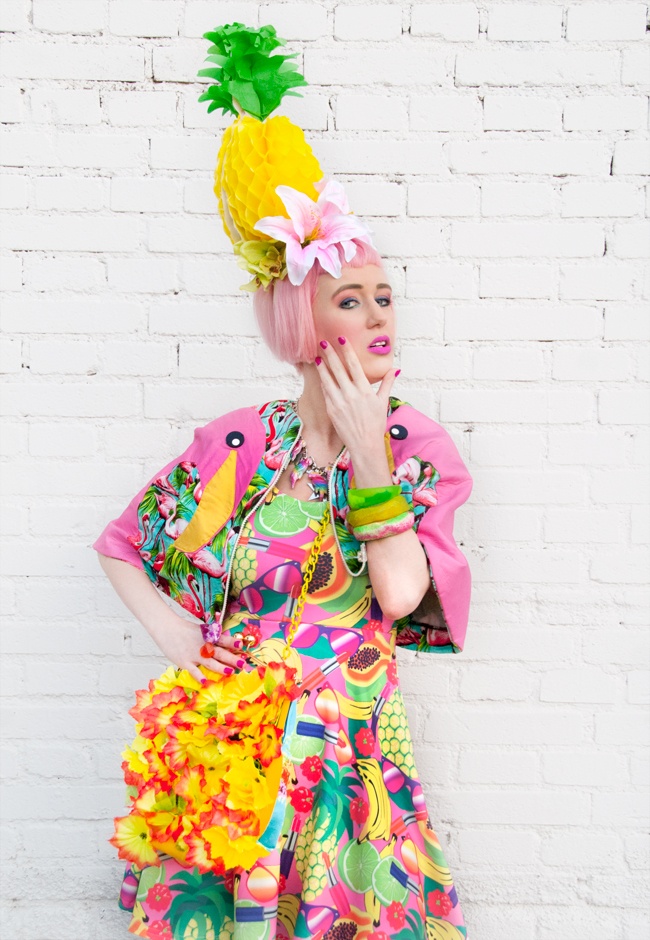 Ciara Monahan, Dazzle and Jolt, tropical look