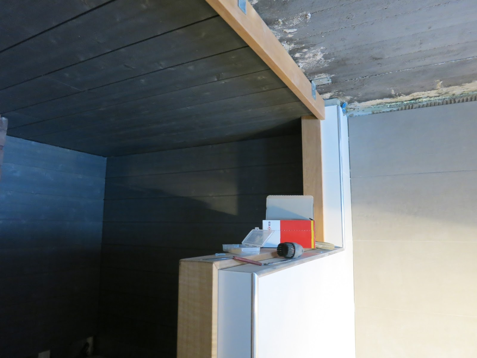 Söta drömmar: badrum och bastu: bastupaneler i grått