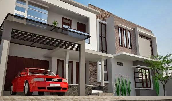 contoh model rumah minimalis 3