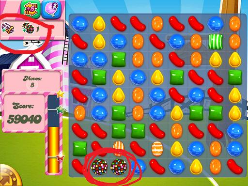 Sugar crush level 255 (yesterday):
