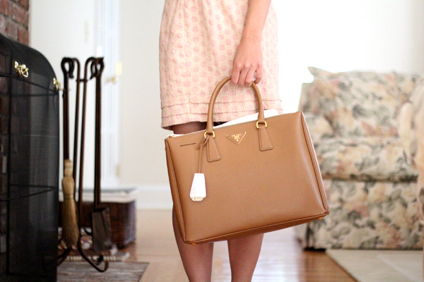 brown prada wallet - Camel Bag Hunt Part III : Prada Saffiano Lux Tote - Fast Food ...
