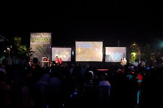 Suasana Penghargaan Festival Film Purbalingga 2012