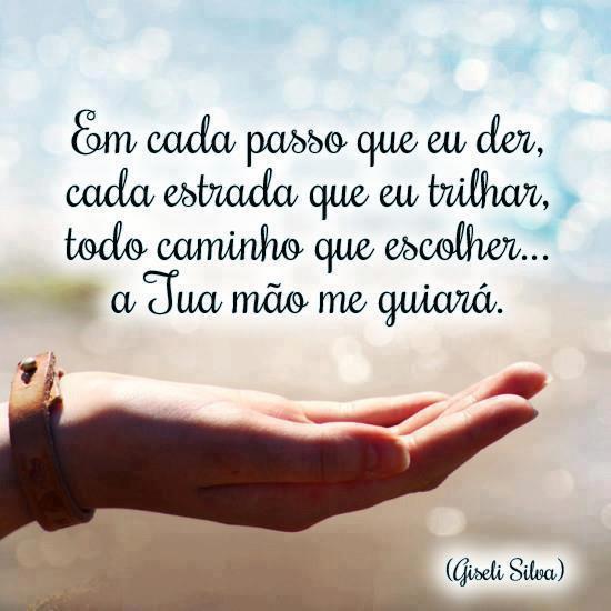 Na Vida Tudo Tem Um Sentido A Minha Vida Está Nas Mãos De Deus