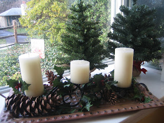 "Use natural items to decorate to help make the holidays ""greener"""