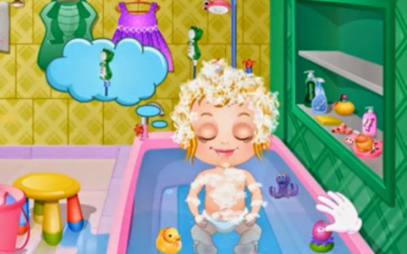 free kids games baby hazel maintains bathroom hygiene standards. Black Bedroom Furniture Sets. Home Design Ideas