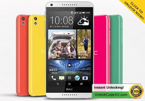 Factory Unlock Code for HTC Desire 816