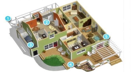Denah Rumah Tingkat 2 Lantai Atau 1 Harus Direncanakan Dengan Baik Serta Disesuaikan Tempat Yang Ada Dalam Membangun Konsep