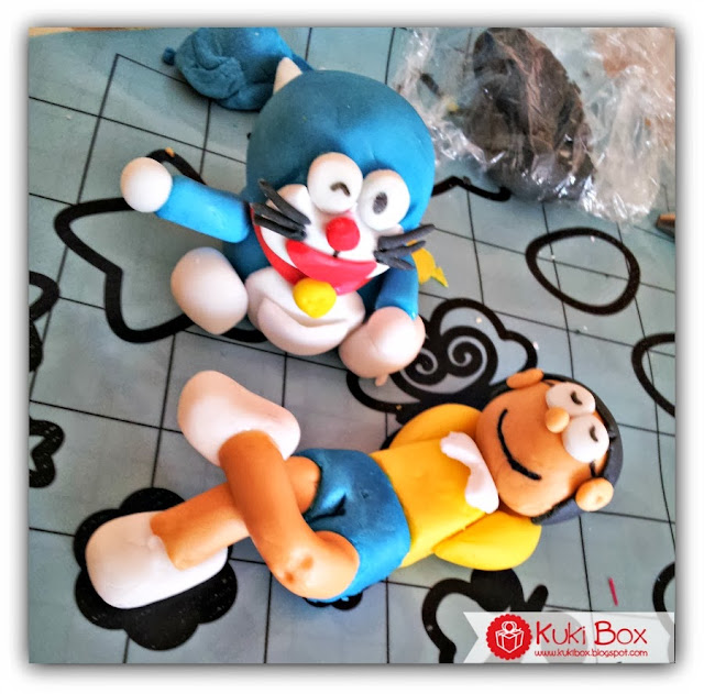 Kuki Box - Topper Nobita y Doraemon